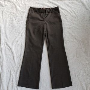 EXPRESS Editor Dress Pant Barely Boot sz 0 NWT